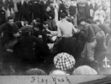 Flag rush - Class Day, October 4, 1913