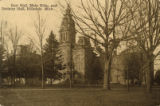 East Hall, Main Bldg., and Divinity Hall, Hillsdale Mich.