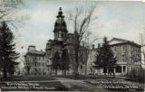 Divinity Hall, Main Bldg. & East Hall  Hillsdale College, Hillsdale Mich.