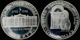 United States, White House 200th Anniversary Coin, 1992