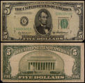 United States, Five Dollar Bill, Series 1950B