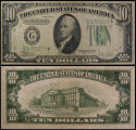 United States, Ten Dollar Bill: Star Note, Series 1934C