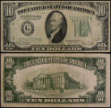 United States, Ten Dollar Bill, Series 1934D