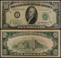 United States, Ten Dollar Bill: Star Note, Series 1950B
