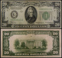 United States, Twenty Dollar Bill, Series 1934A