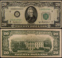 United States, Twenty Dollar Bill: Star Note, Series 1950B