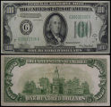 United States, One Hundred Dollar Bill, Series 1934A