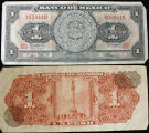 Mexico, 1 Peso Bank Note, 1967