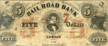 United States, Michigan, The Erie and Kalamazoo Railroad Bank, 1835-1839 AD